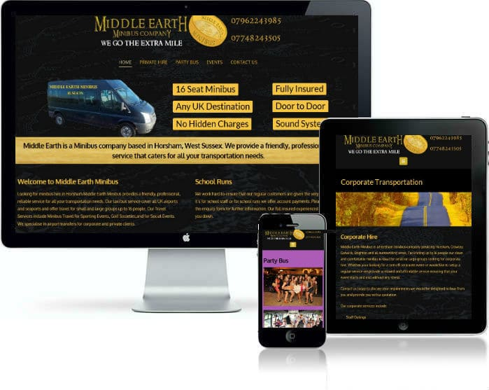 Boonwag Web Design Sussex