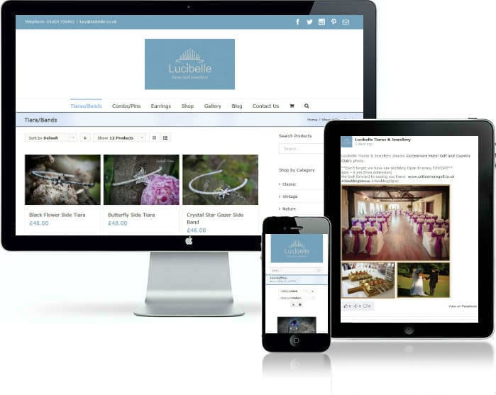 New Business Websites West Sussex