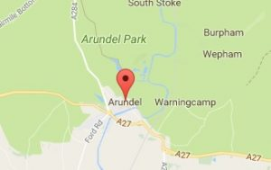 Website Design Arundel West Sussex Map