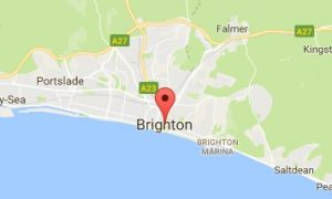 Website Design Brighton East Sussex Map