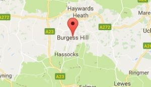 Website Design Burgess Hill West Sussex Map