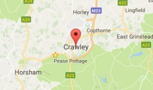 Website Design Crawley West Sussex Map