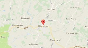 Website Design Billingshurst West Sussex Map