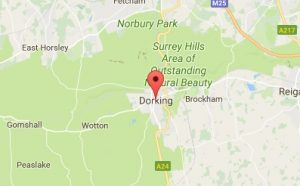 Website Design Dorking Map