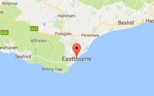 Website Design Eastbourne Map