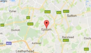 Website Design Epsom Map