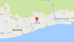 Website Design Lancing West Sussex Map