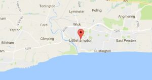 Website Design Littlehampton Sussex Map