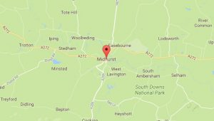 Website Design Midhurst Sussex Map