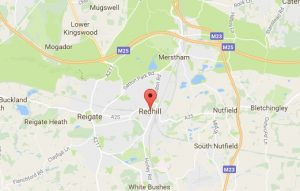 Website Design Redhill Map