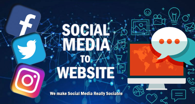 Boonwag Social Media to Website